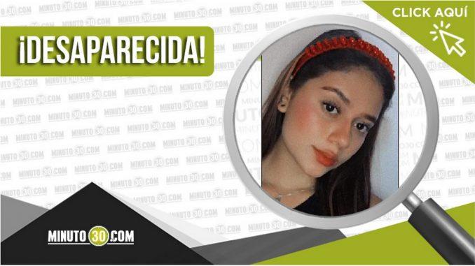 Angie Uribe Chaverra desaparecida