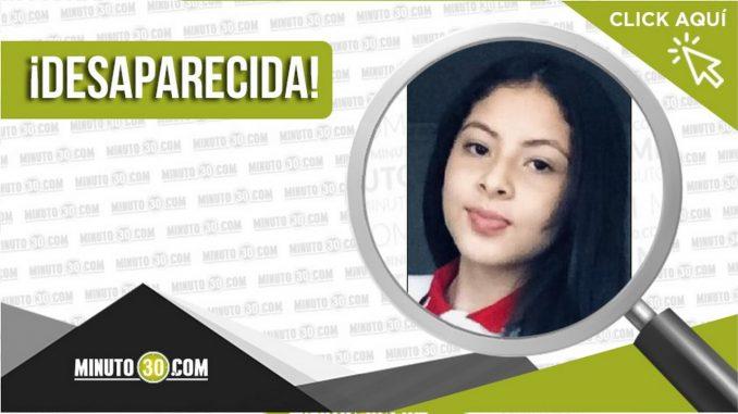 Jaxbleidy Alejandra Torres Higuita desaparecida