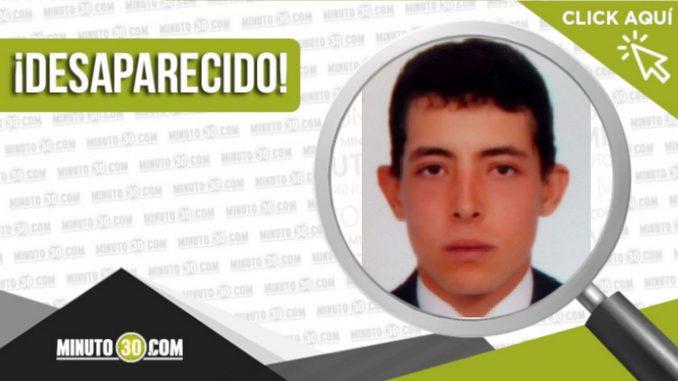 Yordan Mateo Rivera Benítez desaparecido