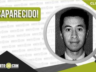 Huber Alexander Jiménez Ramírez desaparecido