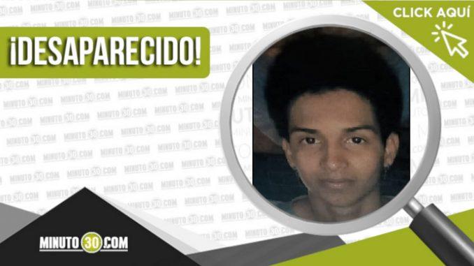 Edgar Velásquez Ruiz desaparecido