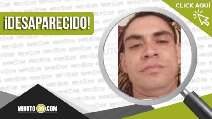 Juan David Moreno Ruiz desaparecido