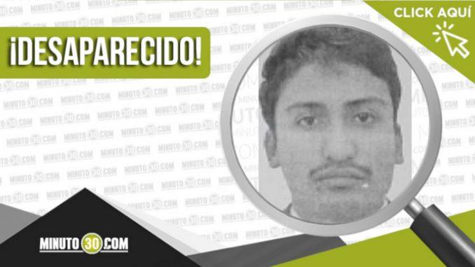 Christian Andrés Betancur Gaviria desaparecido