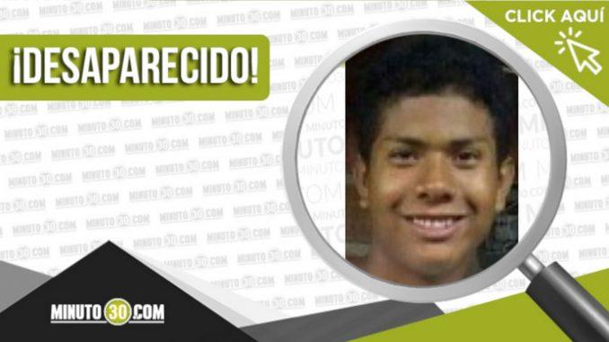 Juan Manuel Maceas Castro desaparecido