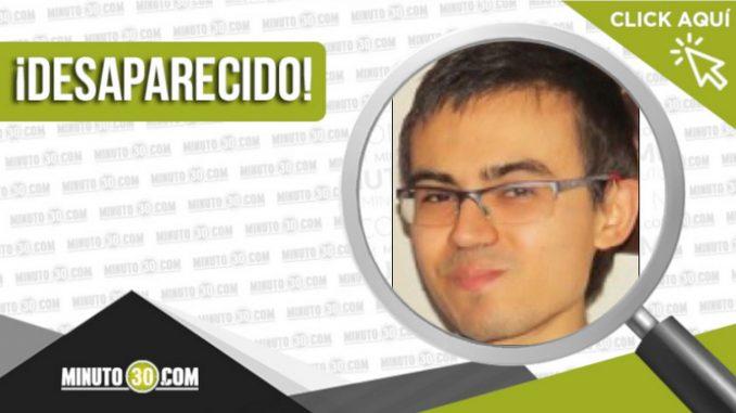 Daniel Fernando Gómez Guzmán desaparecido