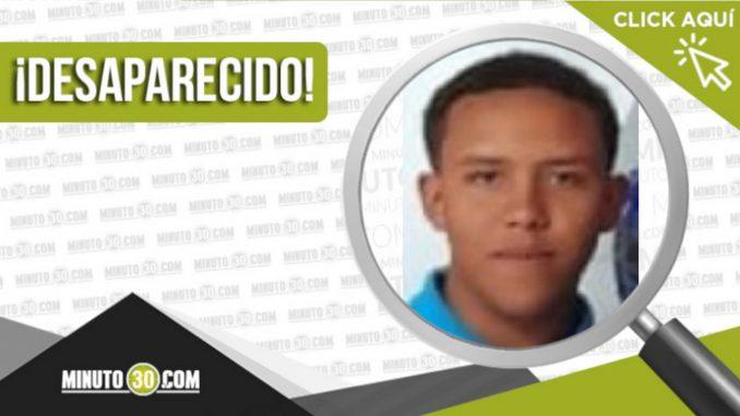 Wilson Alejandro Areiza Mejía desaparecido