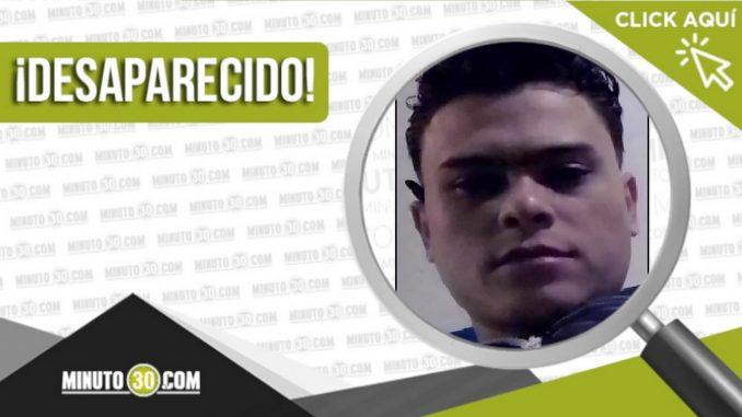 Sebastián Adolfo García Carballo desaparecido