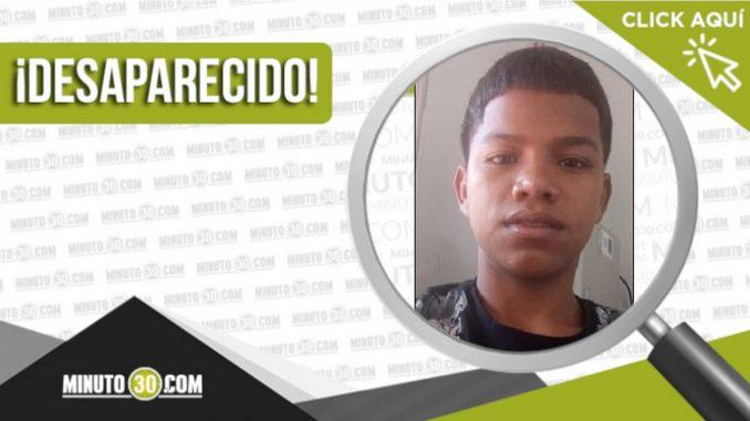 Hamilton Montes Restrepo desaparecido