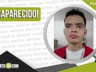 Danilo Espinosa Hernández desaparecido