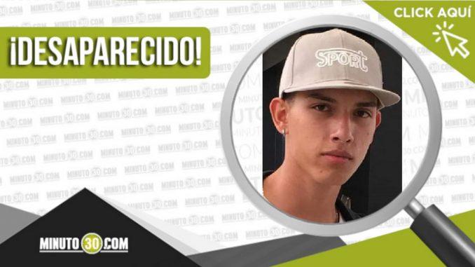 Cristian Camilo Cardona Muñoz desaparecido