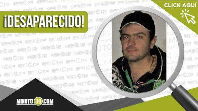 Diomer Alexi Arias Castaño desaparecido