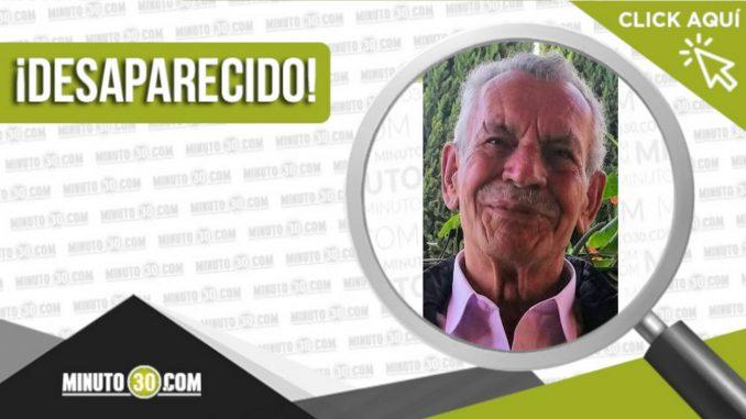 El señor Expedito de Jesús Sandoval Cuartas desapareció en Manrique