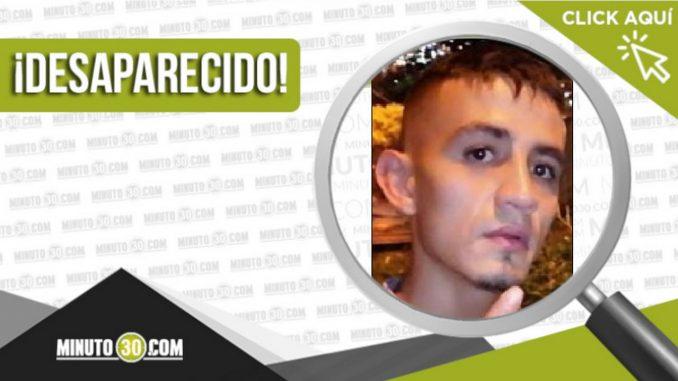 Brainer Moreno Ortiz desaparecido