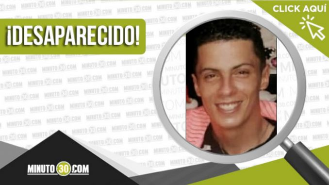 Estiven Alberto Martínez García desaparecido