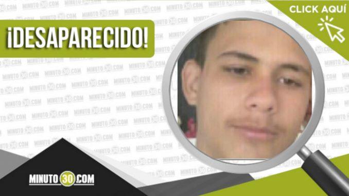 Sebastián Romero Herrera desaparecido