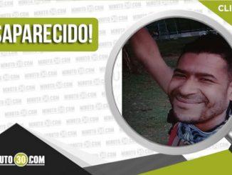 Luis Alberto Valencia Osorio desaparecido