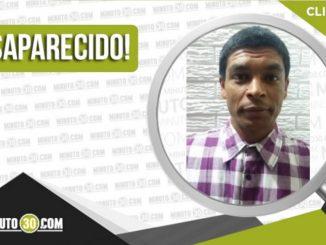 Álvaro Jousset Cuestas Guarnizo desaparecido