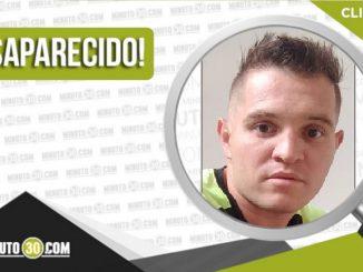 Jonathan Stiven Fernández García desaparecido
