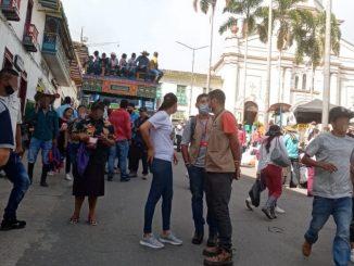 847 campesinos desplazados en Ituango tomaron la decisión de volver a sus veredas