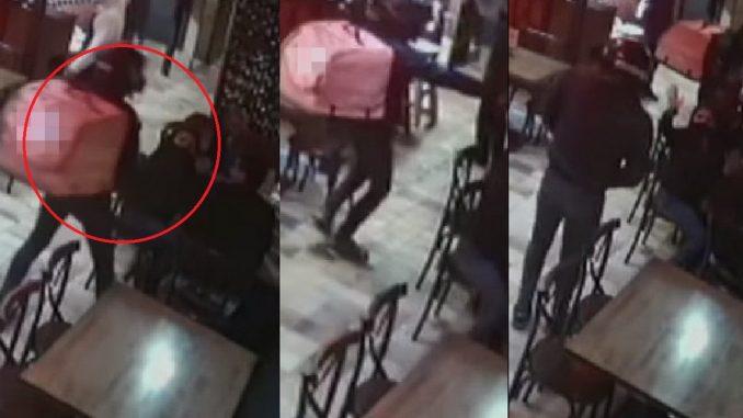 Falsos domiciliarios atracaron a dos familias en restaurante