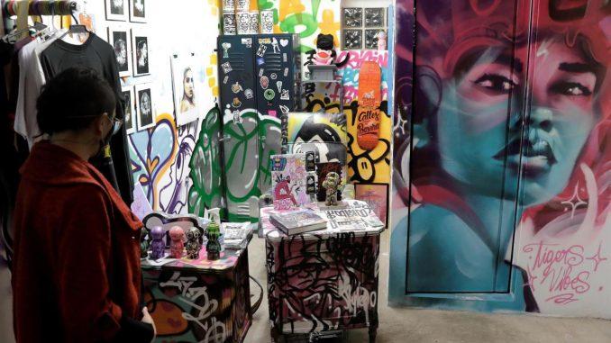 grafitis bogota exposicion