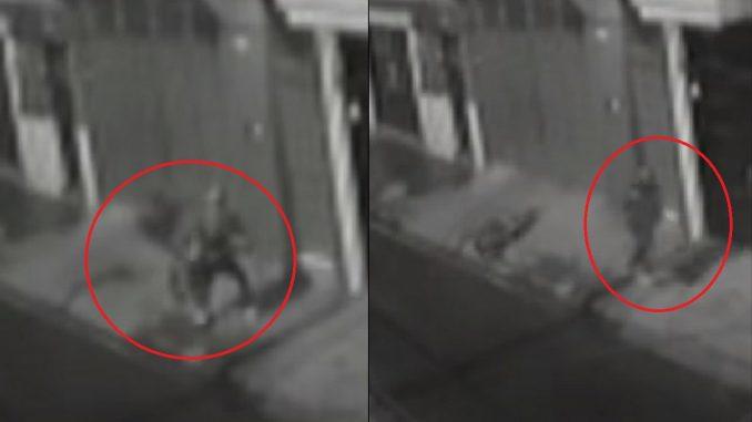 Ladrón de cocas en Bogotá
