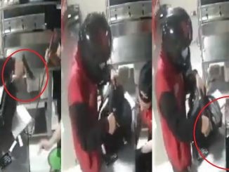 Ladrón en Itagüí dejó vacía la caja de un local de comidas en el barrio Ferrara