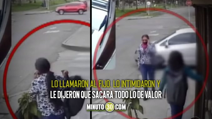 Niño víctima de 'llamada millonaria' en Bogotá