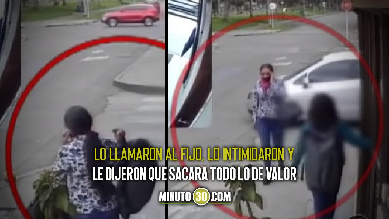 Video: ¡Pilas con los niños! A uno le hicieron 'llamada millonaria' y le robaron varias cosas de su casa - Noticias de Colombia