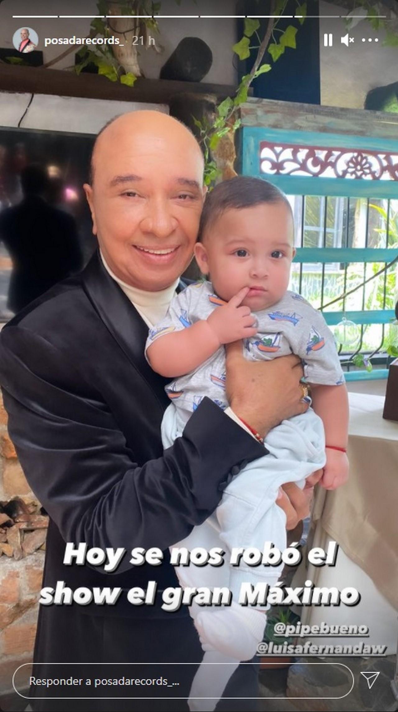 luis alberto posada con hijo de luisa Fernanda W Pipe bueno