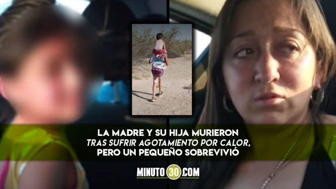 Colombianas murieron en el desierto de Arizo