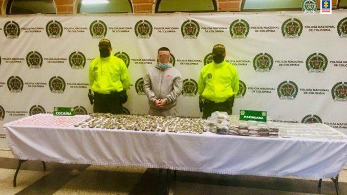 Le encontraron marihuana en su casa en el barrio Antioquia y lo encarcelaron