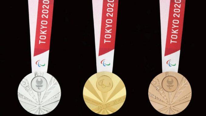 medallas paralimpicos tokio