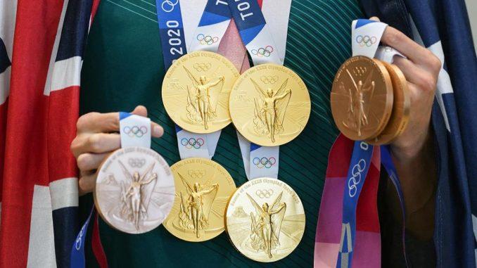 medallas tokio