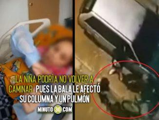 Ladrón le disparó a una menor por robarle el celular