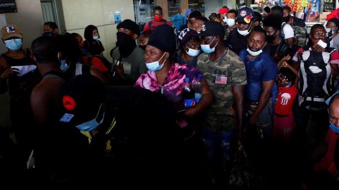 migrantes cali haitianos