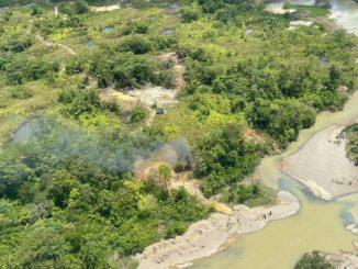 [Video] Destruyeron tres minas que serian del ELN en el Chocó