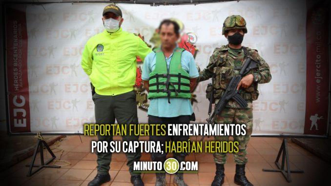 ¡Cayó 'Paisa Mango'!, presunto cabecilla de la red de apoyo a las disidencias en Guaviare