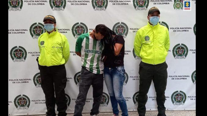 Encarcelaron a estos dos acusados de la muerte de una mujer en Medellín