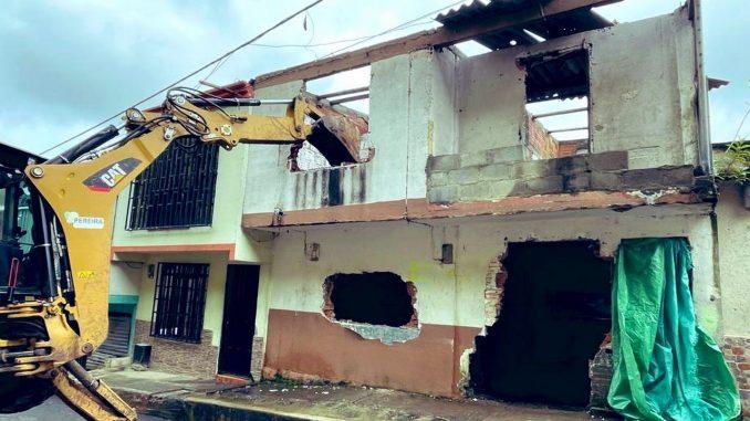 FOTOS: Tumbaron una 'olla' de vicio en Pereira, ya van 106 demoliciones
