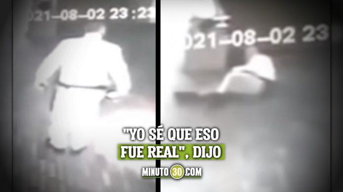 ¡De terror! Vigilante que fue atacado por supuesto fantasma asegura que hasta habló con él