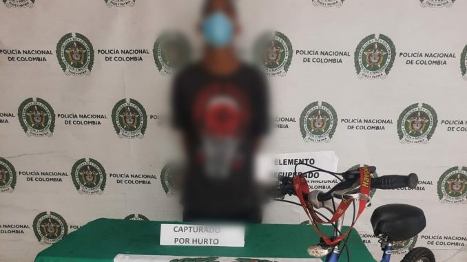 Capturado por robarle la bicicleta a anciano en Medellín
