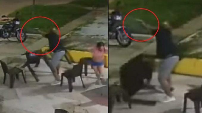 Pánico en pizzería: llegaron a robar y una de las víctimas les disparó