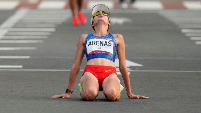 sandra arenas medalla plata colombia