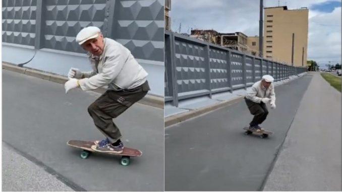 skater de 73 años