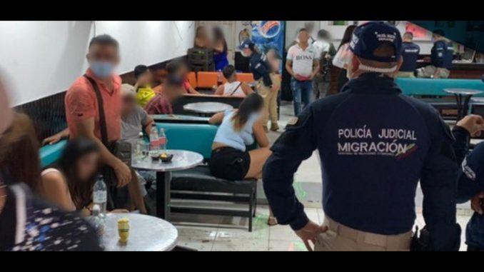 Una menor colombiana y 11 extranjeras eran supuestamente victimas de trata de personas