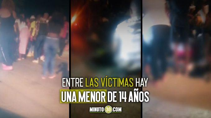 Fatal accidente en aparentes piques ilegales dejó cuatro muertos