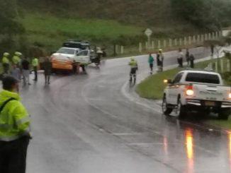 Una persona muerta dejó un accidente de transito en Cáceres, Antioquia