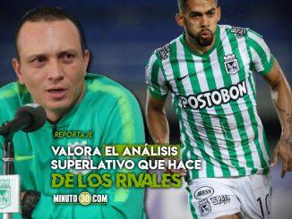 Alejandro Restrepo destaca los multiples aportes de Andrade a Nacional
