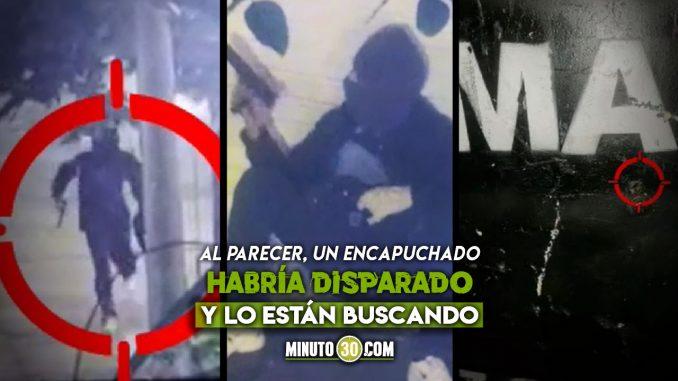 Anoche atacaron con arma de fuego al Esmad en Medellín